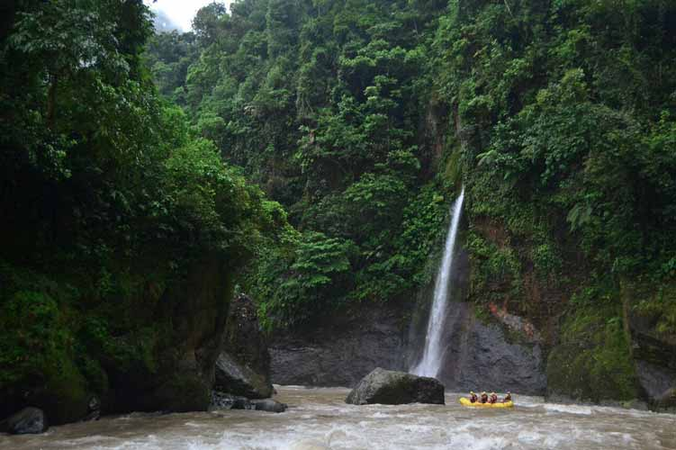 Pacuare river rafting overnight costa rica green adventures for Jungle furniture white river
