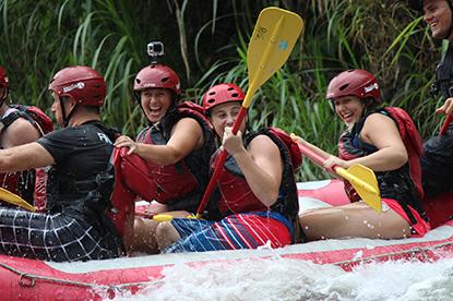 rafting arenal