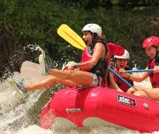 Arenal volcano rafting tours